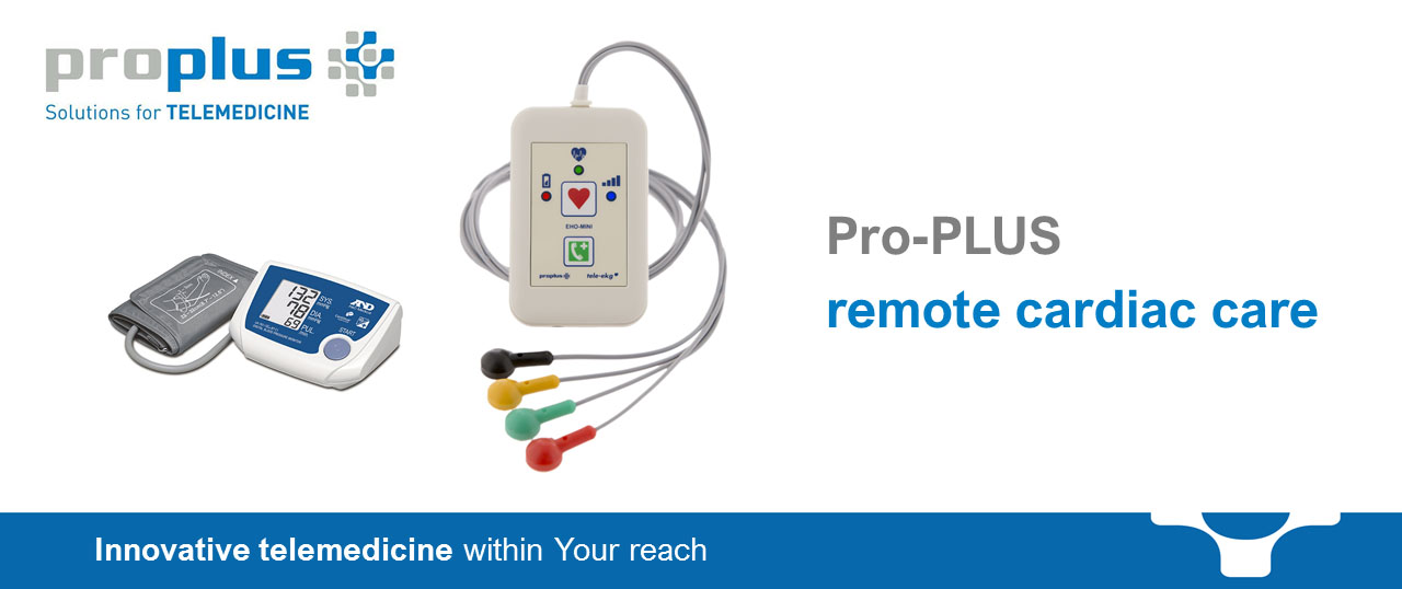 Pro-PLUS remote cardiac care