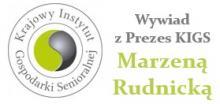 KIGS, Marzena Rudnicka, seniorzy, opieka senioralna
